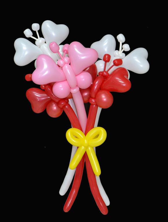 Бабочка из воздушных шаров пошаговое фото